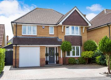 Thumbnail 4 bed detached house for sale in Beaufort Close, Lee-On-The-Solent