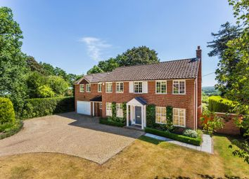 Thumbnail 5 bed detached house to rent in Hook Heath Road, Hook Heath, Woking