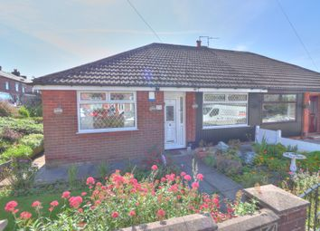 Thumbnail 3 bed semi-detached bungalow for sale in Marlborough Road, Royton, Oldham
