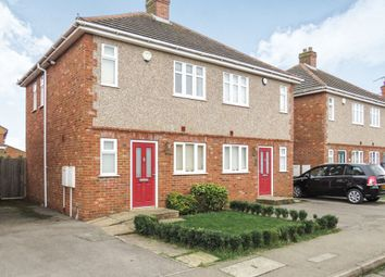 Thumbnail 2 bed semi-detached house for sale in Eastfield Road, Brixworth, Northampton