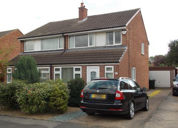 Thumbnail 3 bed semi-detached house for sale in Westmorland Way, Sprotbrough, Doncaster