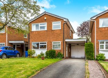 Thumbnail 3 bed detached house for sale in Worcester Close, Lichfield