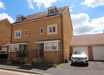 Thumbnail 4 bed semi-detached house for sale in Newlands Lane, Emersons Green, Bristol