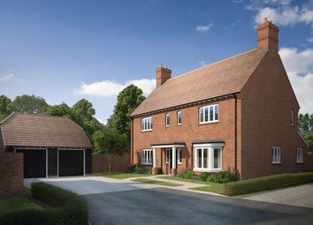 Thumbnail 4 bed detached house for sale in The Orchard, Oxford Road, Stone, Aylesbury