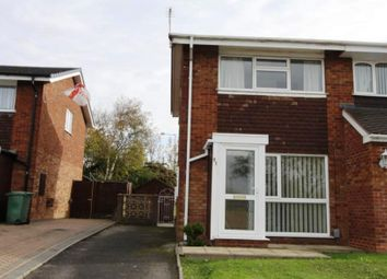 Thumbnail 2 bed semi-detached house for sale in Segundo Road, Walsall