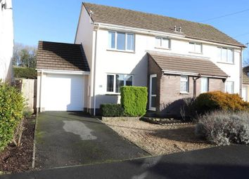 Thumbnail 3 bed semi-detached house for sale in Hawthorn Road, Barnstaple