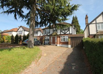 Thumbnail 4 bed detached house to rent in Nork Way, Banstead