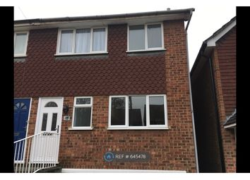 Thumbnail 3 bed semi-detached house to rent in Budebury Road, Staines-Upon-Thames