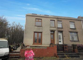 Thumbnail 4 bed end terrace house for sale in New Road, Tondu, Bridgend, Mid Glamorgan