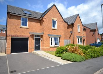 Thumbnail 4 bed detached house for sale in Foster Crescent, Silverdale, Newcastle-Under-Lyme