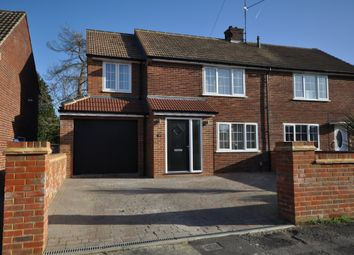 Thumbnail 3 bed property for sale in Rosedale Crescent, Earley, Reading