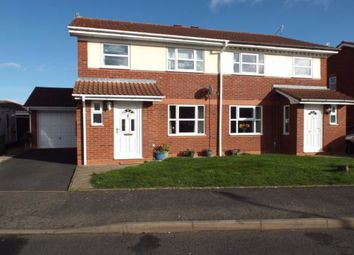 Thumbnail 3 bed semi-detached house for sale in Columbine Grove, Evesham