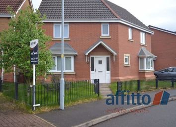 Thumbnail 4 bedroom detached house to rent in Wrenbury Drive, Bilston, Wolverhampton