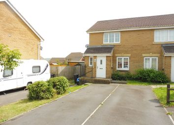 Thumbnail 2 bed semi-detached house for sale in Pen Cerrig Rise, Heolgerrig, Merthyr Tydfil