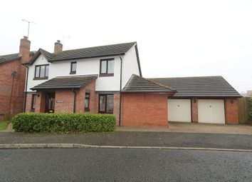 Thumbnail 4 bed detached house for sale in Bridgedown, Tarporley, Cheshire