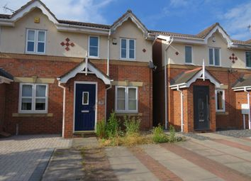 Thumbnail 2 bed semi-detached house for sale in Tilbury Crescent, Thurmaston, Leicester