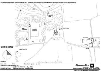 Thumbnail Leisure/hospitality to let in Haughton House Caravan Park, Montgarrie Road, Alford
