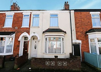 Thumbnail 3 bed terraced house for sale in Thoresby Street, Hull