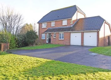 Thumbnail 4 bed detached house to rent in Eager Way, Exminster, Exeter
