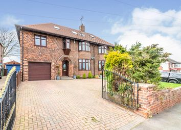 Thumbnail 4 bed semi-detached house for sale in Crakehall Road, Ecclesfield, Sheffield, South Yorkshire