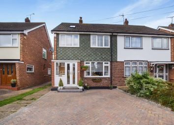 Thumbnail 4 bed semi-detached house to rent in Balstonia Drive, Corringham, Stanford-Le-Hope
