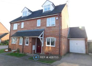 Thumbnail 3 bed semi-detached house to rent in Windrush Close, Stevenage