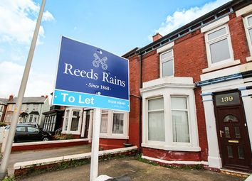 Thumbnail 4 bedroom terraced house to rent in Albert Road, Blackpool