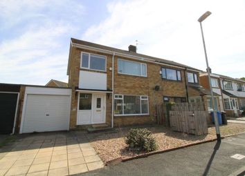 Thumbnail 3 bed semi-detached house for sale in Marius Avenue, Heddon-On-The-Wall, Northumberland