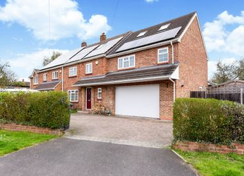 Thumbnail 4 bed semi-detached house for sale in East Green, Blackwater, Camberley