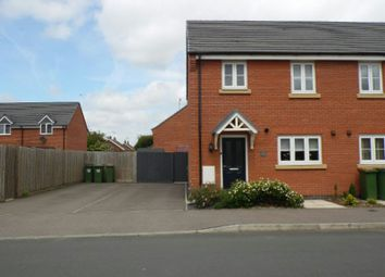 Thumbnail 3 bed semi-detached house to rent in Barrowcliff Way, Blaby, Leicester
