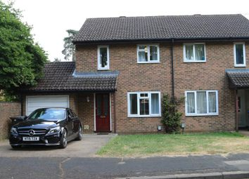 Thumbnail 3 bed semi-detached house to rent in Hamble Close, Woking