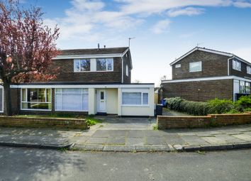 Thumbnail 3 bedroom semi-detached house for sale in Bolton Close, Newton Hall, Durham