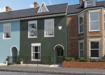 Thumbnail 4 bed semi-detached house for sale in Western Road, Lymington
