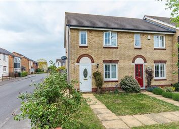Thumbnail 2 bedroom end terrace house for sale in Goldfinch Drive, Cottenham, Cambridge