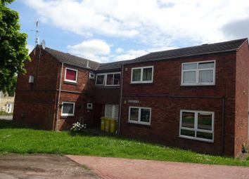 Thumbnail 1 bed flat for sale in Heathcott Road, Off Saffron Lane, Leicester