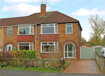 Thumbnail 3 bed semi-detached house for sale in Riverview Avenue, North Ferriby, East Riding Of Yorkshire