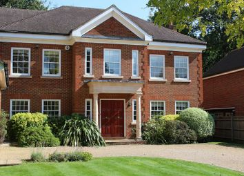 Thumbnail 6 bed detached house to rent in Woodside Road, Cobham