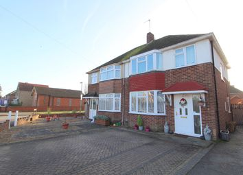 Thumbnail 3 bedroom semi-detached house for sale in Feltham Hill Road, Ashford