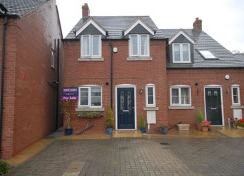 Thumbnail 3 bed town house for sale in Morini Court, Coalville