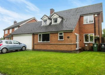 Thumbnail 4 bed detached house for sale in Rupert Crescent, Queniborough