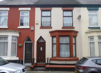 Thumbnail 3 bed terraced house for sale in Romer Road, Liverpool