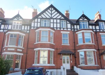 Thumbnail 2 bed flat for sale in Clement Avenue, Llandudno