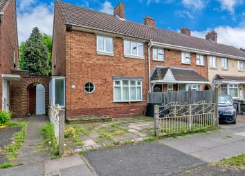 Thumbnail 3 bed end terrace house for sale in Stephenson Avenue, Walsall