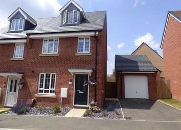Thumbnail 3 bed semi-detached house for sale in Thatcher Drive, Woodford Halse, Daventry