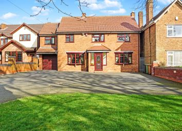 Thumbnail 4 bed detached house for sale in Bell Road, Walsall