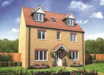 "Thumbnail 5 bed detached house for sale in ""The Newby"" at The Street, Beck Row, Bury St. Edmunds"