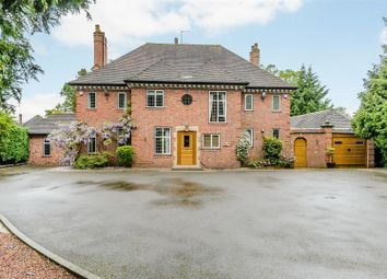 Thumbnail 5 bed detached house for sale in Warwick Road, Solihull