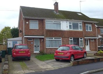 Thumbnail 4 bedroom semi-detached house for sale in Handsworth Crescent, Eastern Green, Coventry, West Midlands