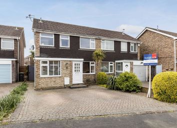Thumbnail 3 bed semi-detached house for sale in Elder Road, Denvilles, Havant