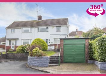 Thumbnail 3 bed semi-detached house for sale in Gaer Park Lane, Newport
